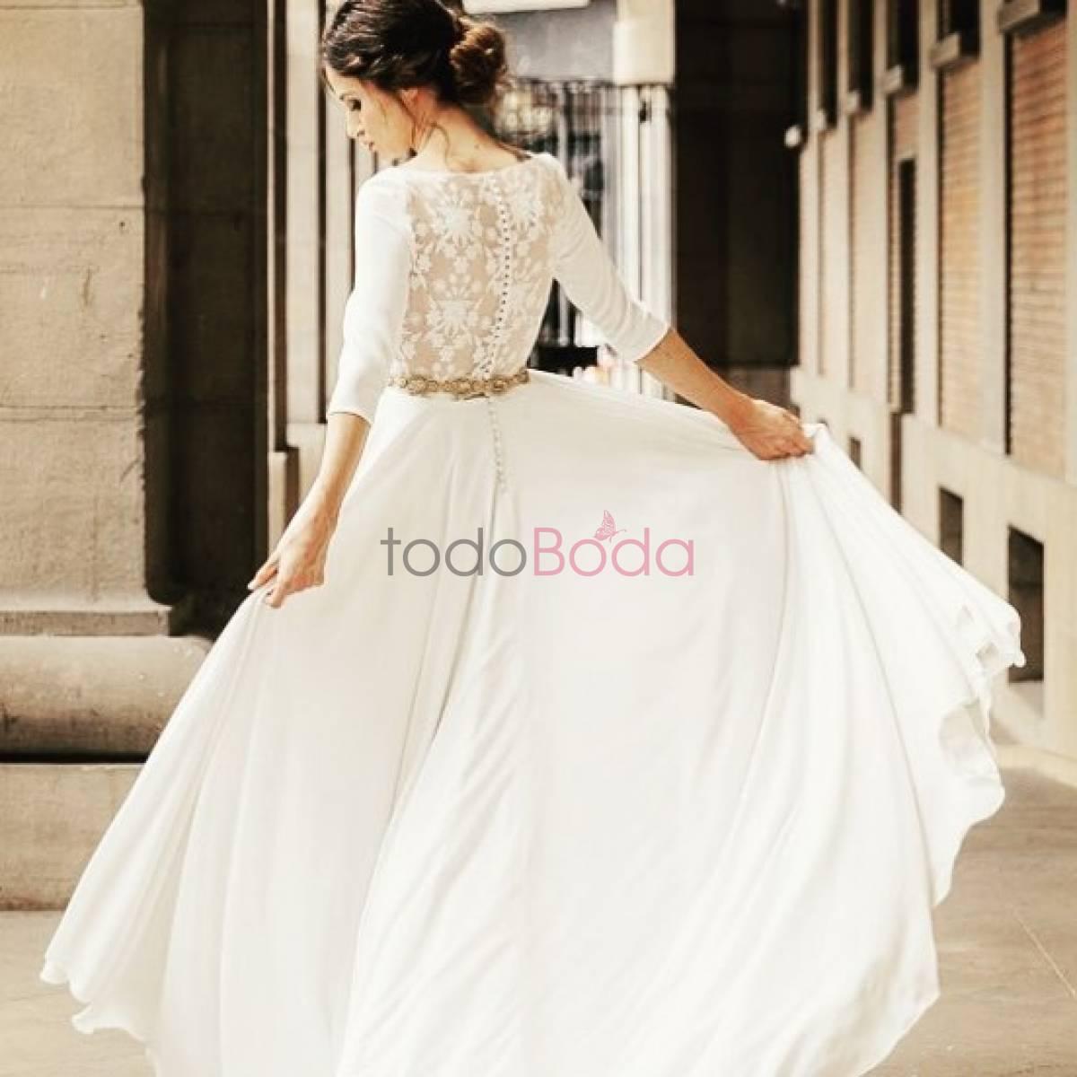 5b8776e9b5 Me Pido Este Vestido. Vestidos de Novia Madrid. Colecciones 14