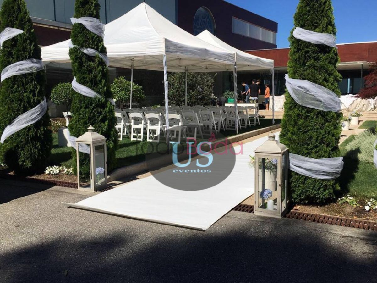 Ceremonia carpas pleg