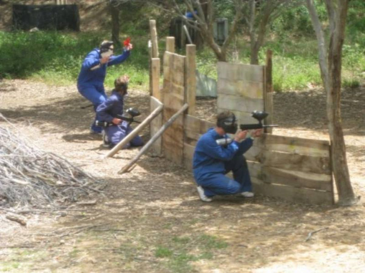 Tu boda en Paintball Can Garriga 0