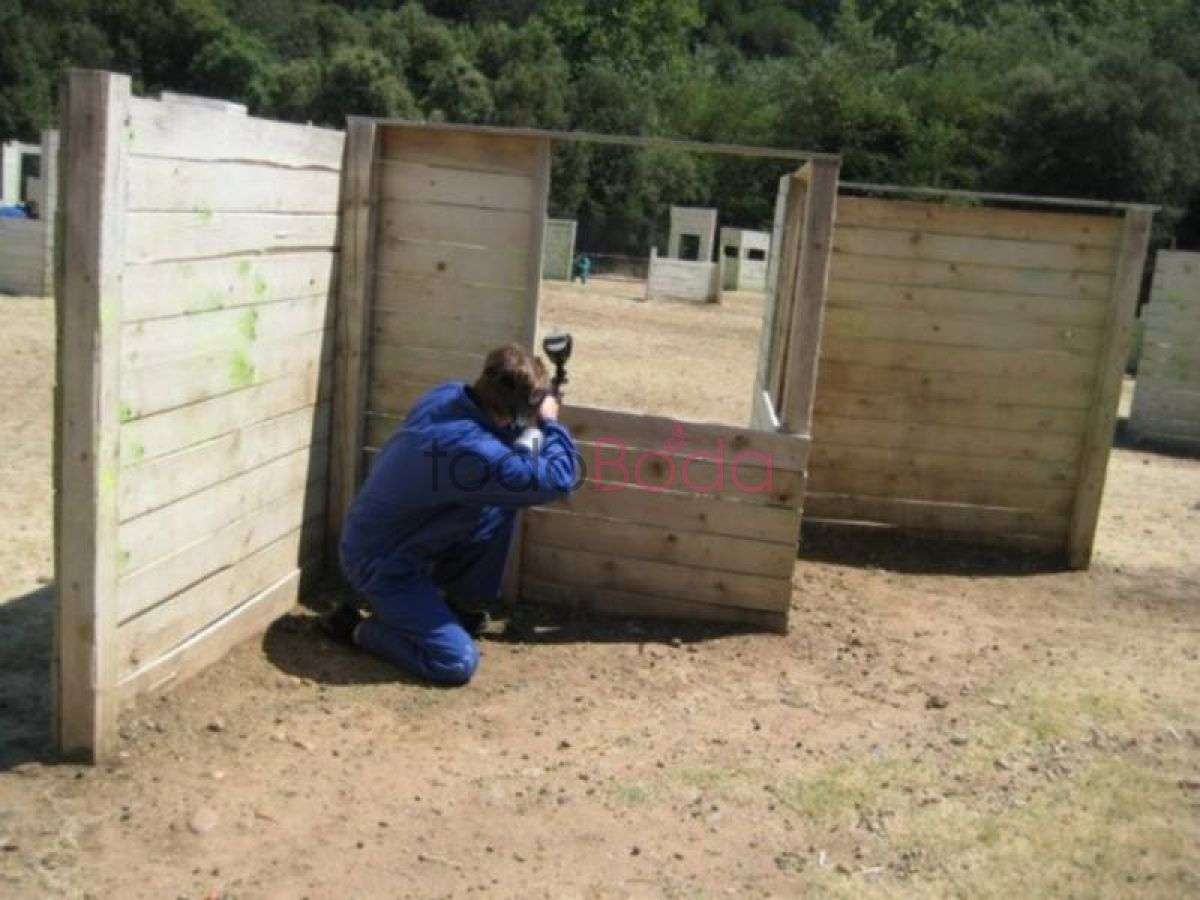 Tu boda en Paintball Can Garriga 4