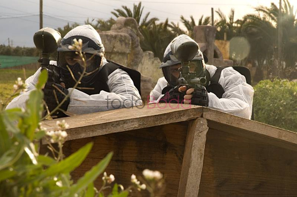 Tu boda en Urban Paintball 2