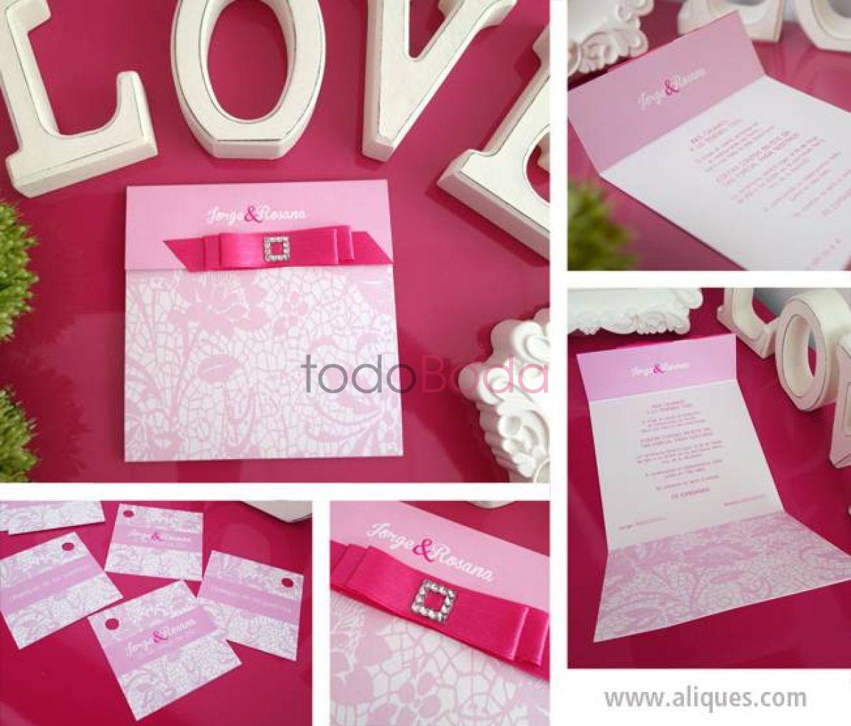 Invitaciones de boda para bodas en Valencia - TodoBoda.com