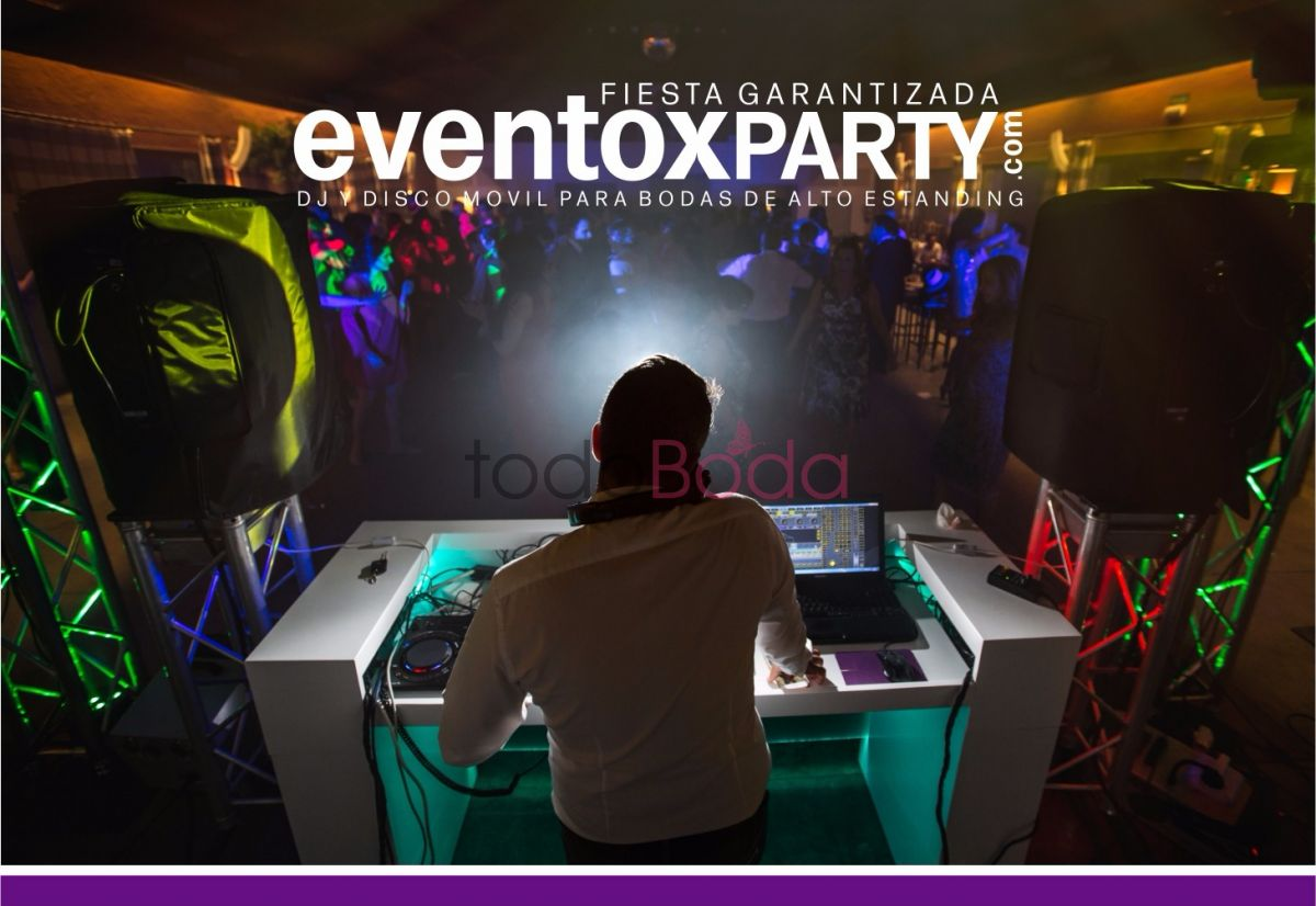 eventoxparty discoteca movil para bodas