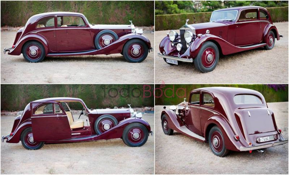 Rolls Royce Coupe 1937