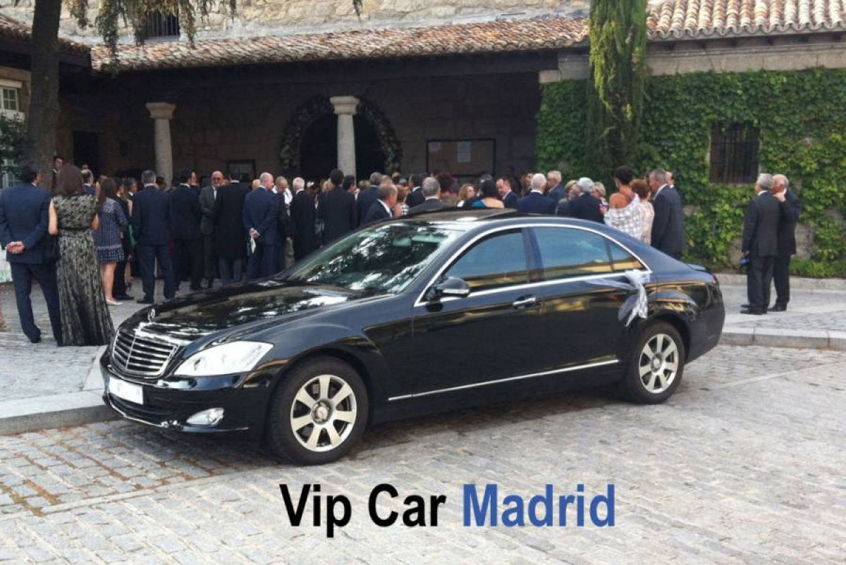 Tu boda en Vip Car Madrid 0