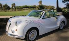 Coches con Glamour. Coches Bodas Sevilla. Hurtan Author Blanco 2