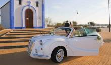 Coches con Glamour. Coches Bodas Sevilla. Hurtan Author Blanco 1