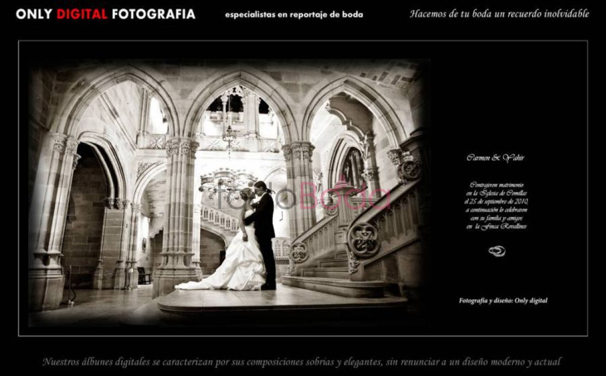 Tu boda en Only Digital Fotografia