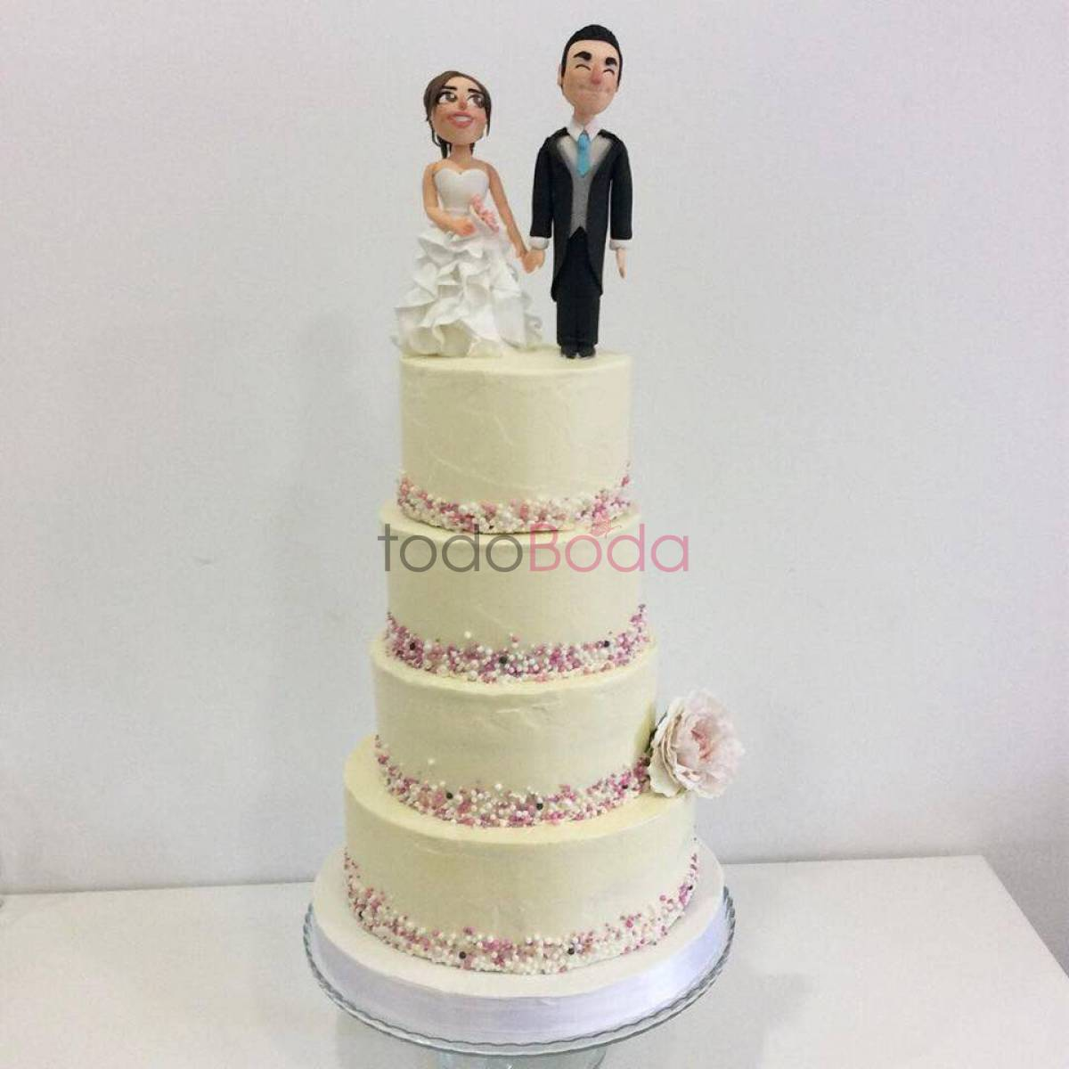 Happy Cupcakes To You. Pastelerías Tartas de Boda Madrid. Tarta personalizada 6