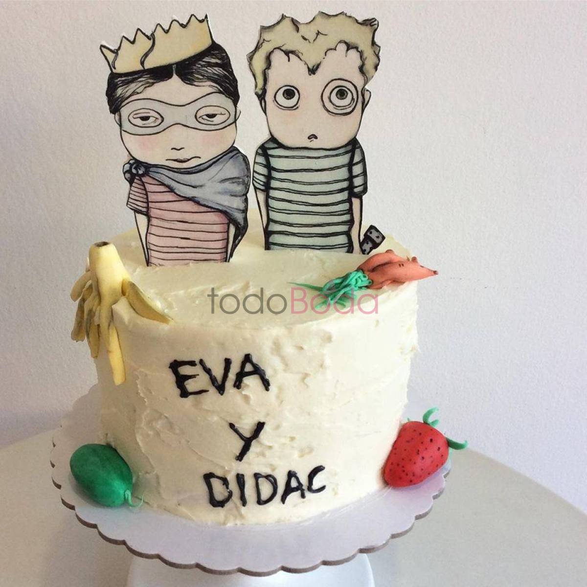 Happy Cupcakes To You. Pastelerías Tartas de Boda Madrid. Tarta personalizada 7
