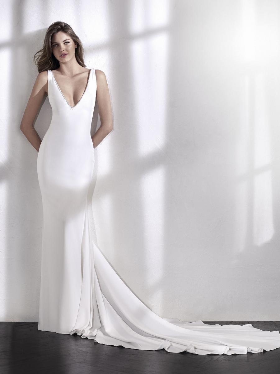 Vestido de novia modelo paloma