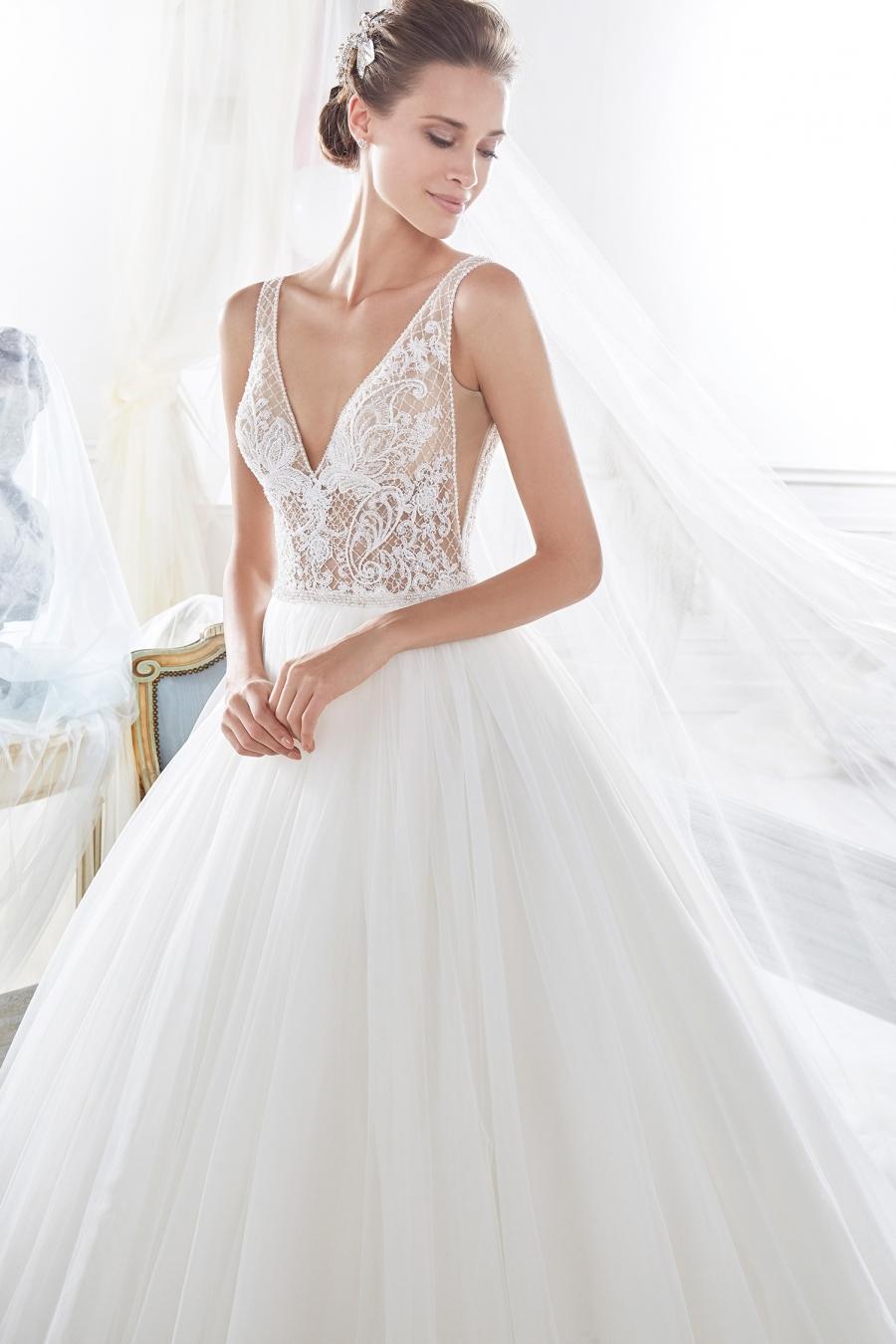 Precio vestidos tul novias