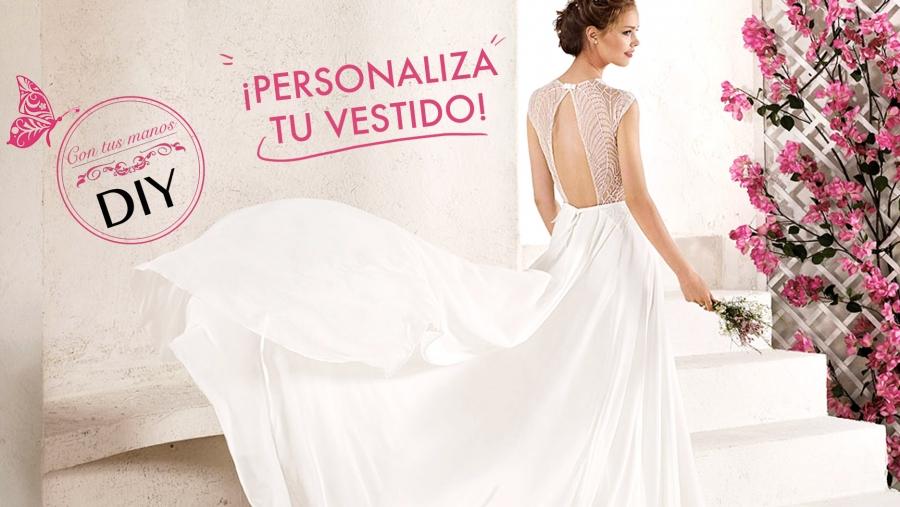 todoboda - diy: cómo personalizar tu vestido de novia