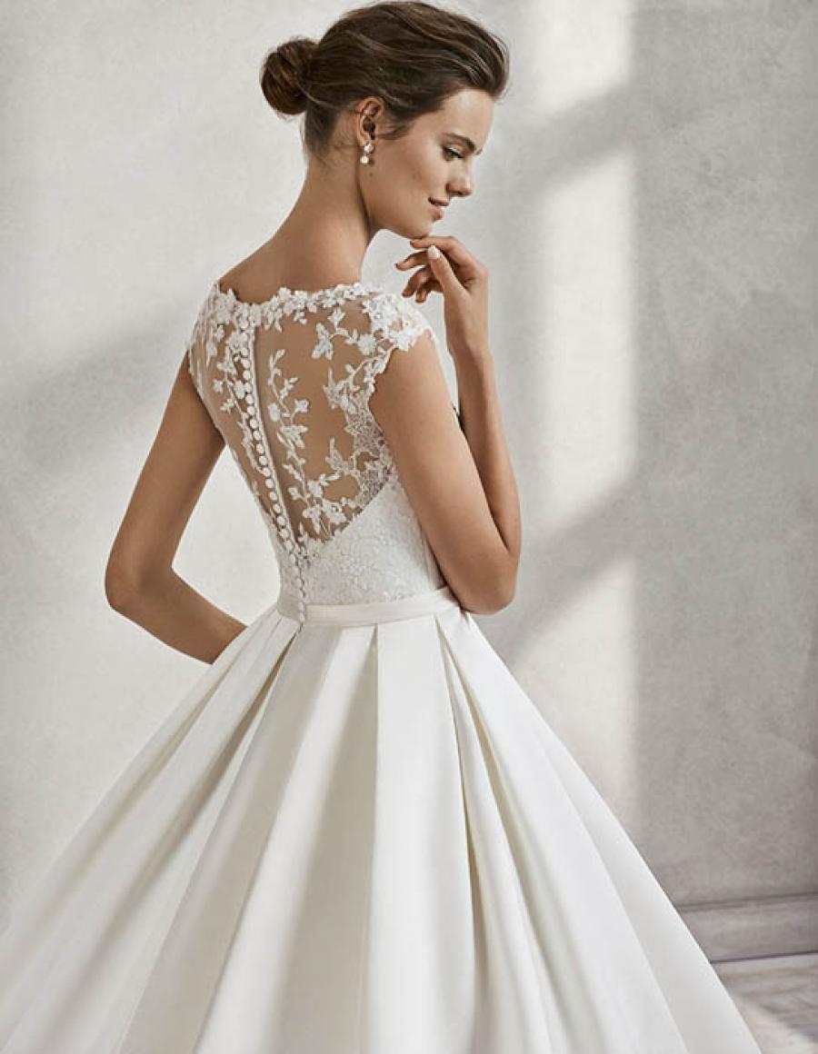Vestido de novia el