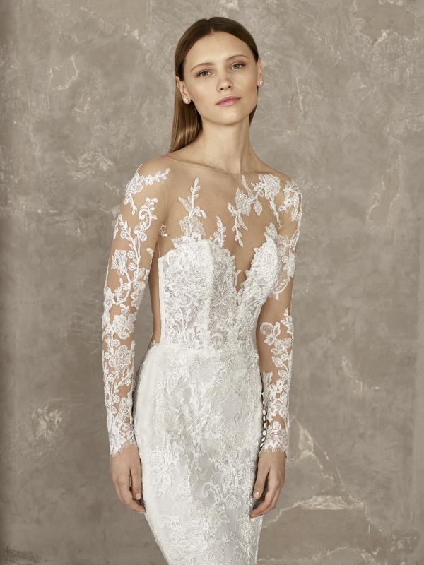 ff5a58bce793 TodoBoda.com - 10 vestidos de novia de encaje