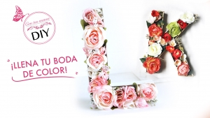 DIY: 3 ideas primaverales para llenar tu boda de color