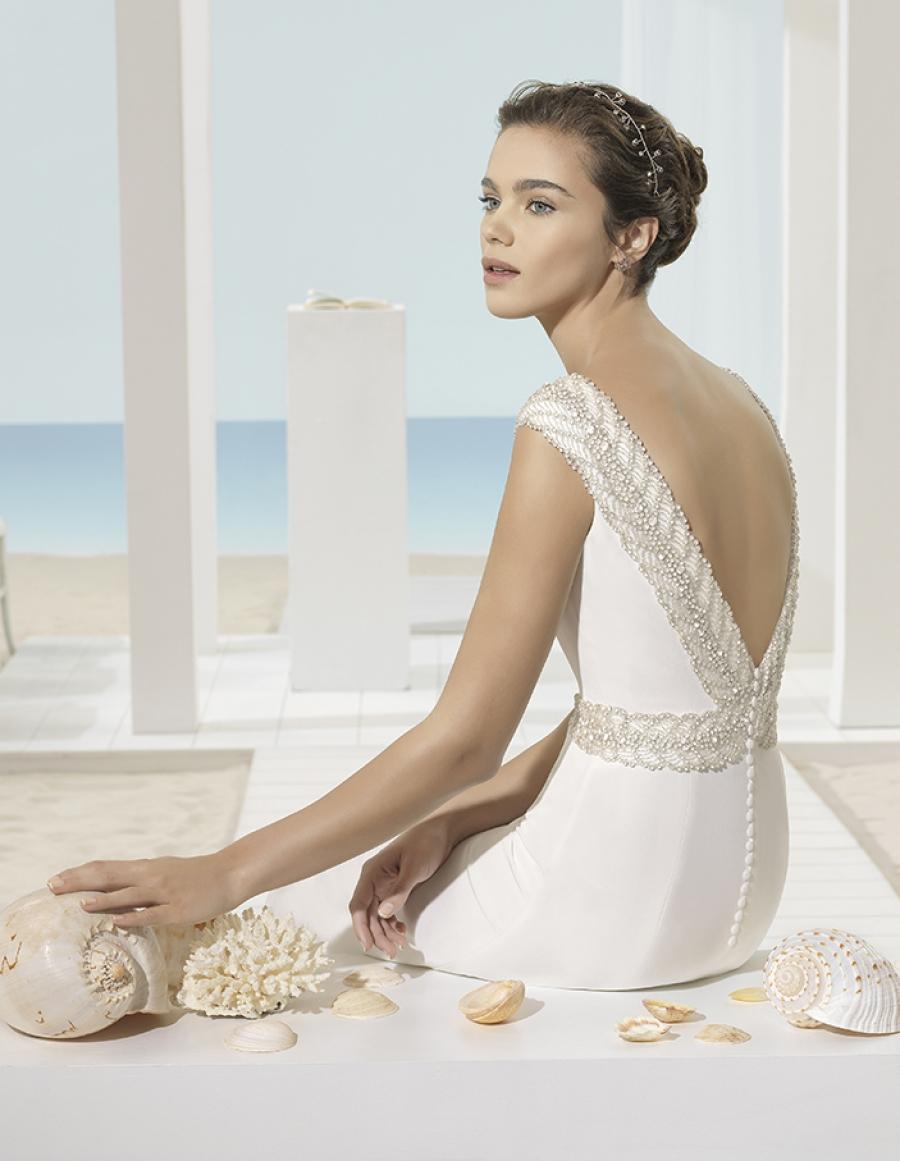 Imagenes de vestidos sencillos de novia