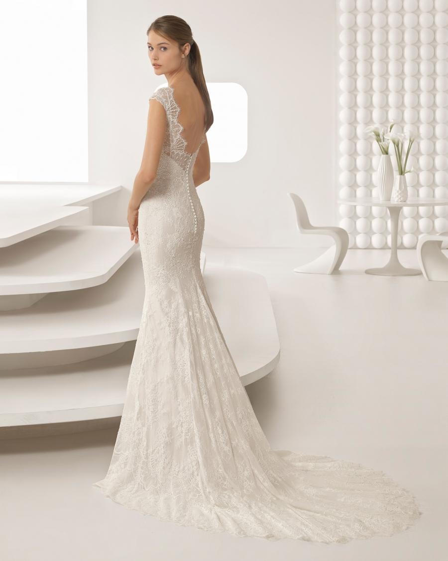 Vestido corte novia